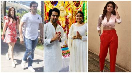 Celeb spotting: Arbaaz Khan, Anushka Sharma, Shilpa Shetty and others