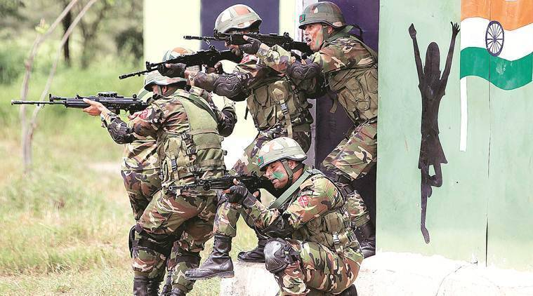 The focus of recent military exercises has been on counter-terrorism and counter-insurgency operations in various settings, like semi-urban or jungle terrain.