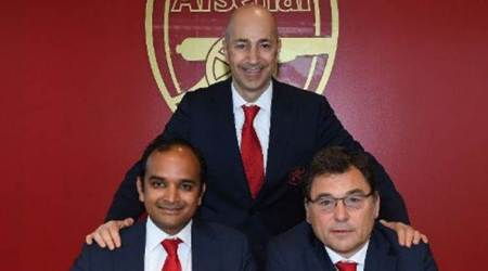 Vinai Venkatesham: Arsenal's new managing director