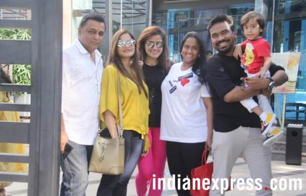 Ashley Rebello, Alvira Khan Agnihotri, Yasmin Karachiwala and Mushtaq Shiekh