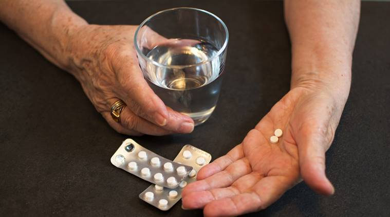 Aspirin a day 'risky in old age' finds major study