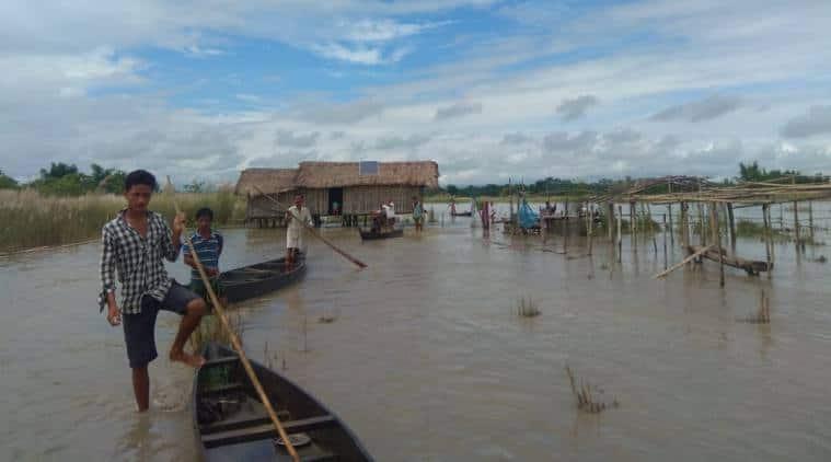 Dheamji Flood, Assam