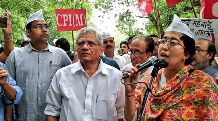 AAP, Atishi, Bharat Bandh, Congress, fuel prices, India news, Indian Express news