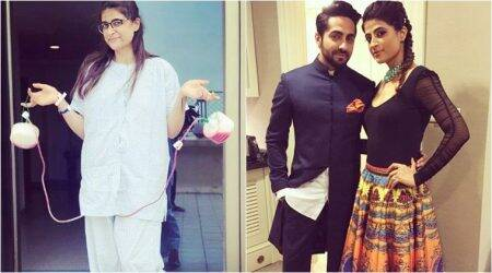Tahira Kashyap detected with Stage 0 breast cancer, husband Ayushmann Khurrana says she is fine now