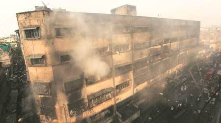 Bagree market fire, Kolkata bagree market fire, Fire doused, FIR against director, Kolkata, indian Express