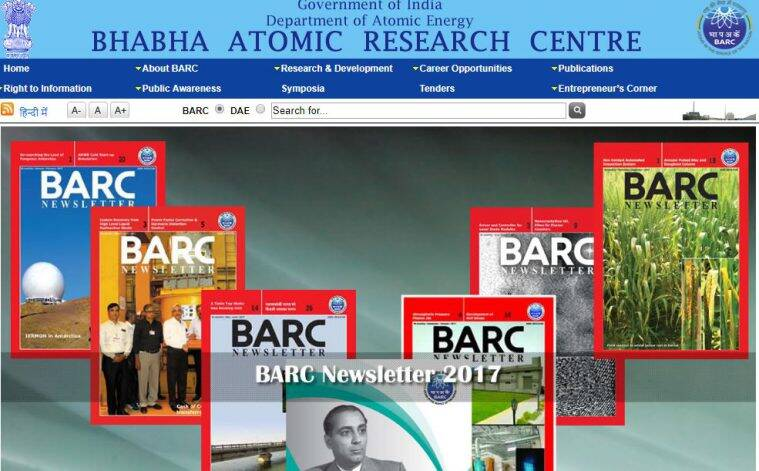 BARC, BARC recruitment, BARC jobs, barc.gov.in