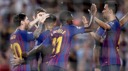 Ousmane Dembele, Lionel Messi partnership fuelling Barcelona goal rush