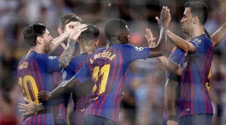 Ousmane Dembele, Lionel Messi partnership fuelling Barcelona goalrush