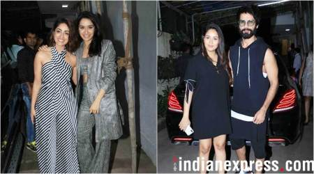Batti Gul Meter Chalu screening: Mira Rajput, Neelima Azeem and others in attendance