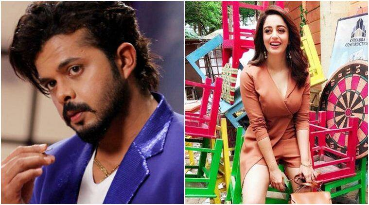 sreesanth and neha pendse in bigg boss 12