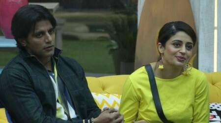Nehha Pendse and Karanvir Bohra in bigg boss 12