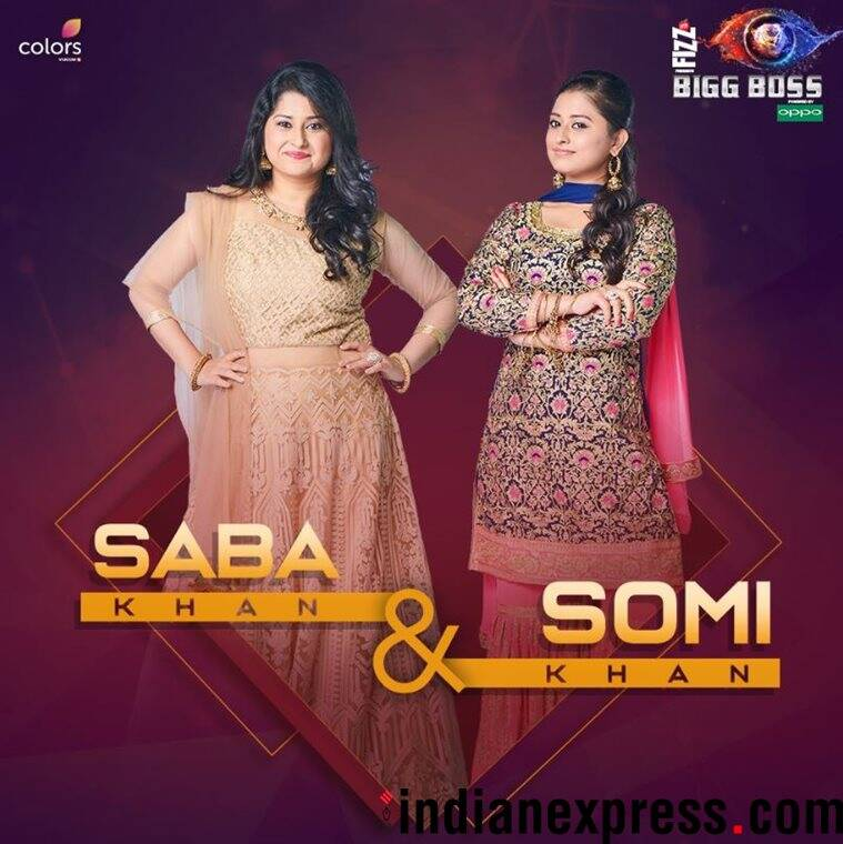 Saba Khan and Somi Khan