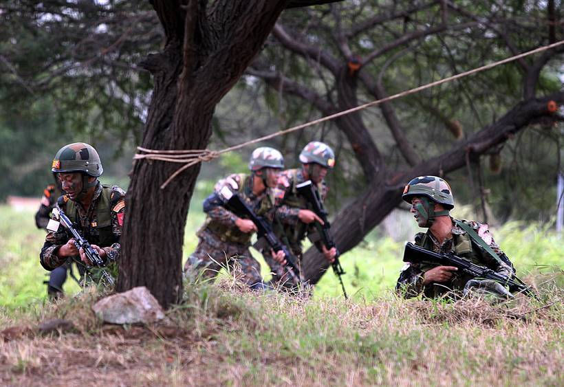 BIMSTEC, BIMSTEC nations, BIMSTEC military exercise, BIMSTEC military exercise pictures, BIMSTEC pune pictures, Pune military station, Indian Express, latest news
