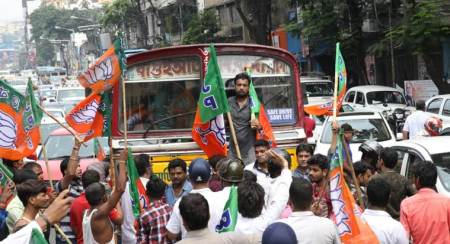 West Bengal bandh LIVE updates: Clashes break out between BJP, TMC during rally, sporadic violence reported