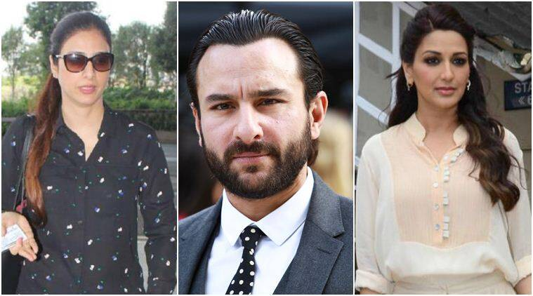 saif ali khan, sonali bendre and tabu in blackbuck case