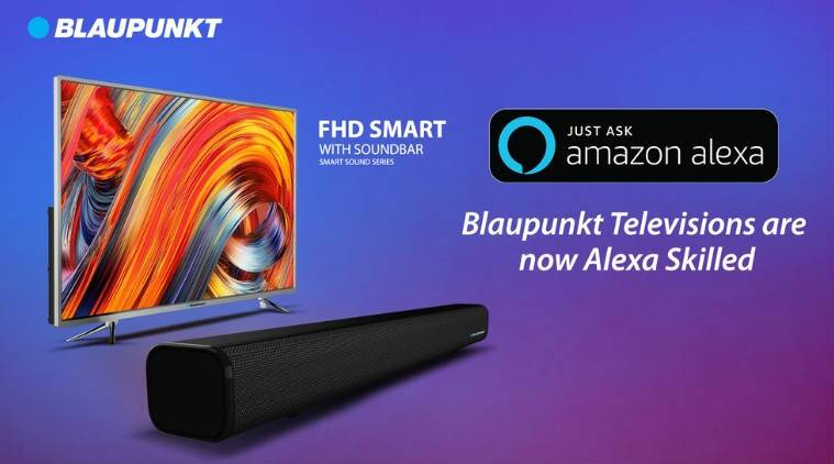 Blaupunkt LED TV models now come with Alexa support in India