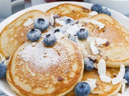 Blueberry Coconut Pancake recipe