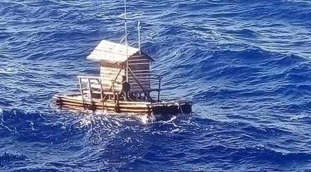 This Indonesian teenager survived seven weeks adrift at sea in a fishing hut