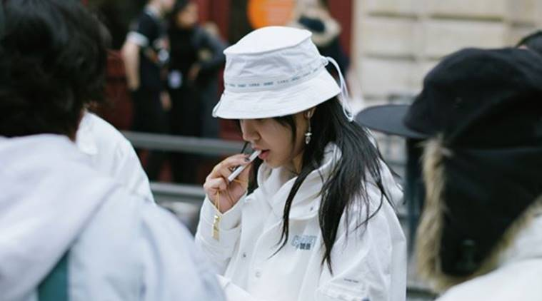 We saw people wearing bucket hats at Paris Fashion Week. Are they back  8dc14711022
