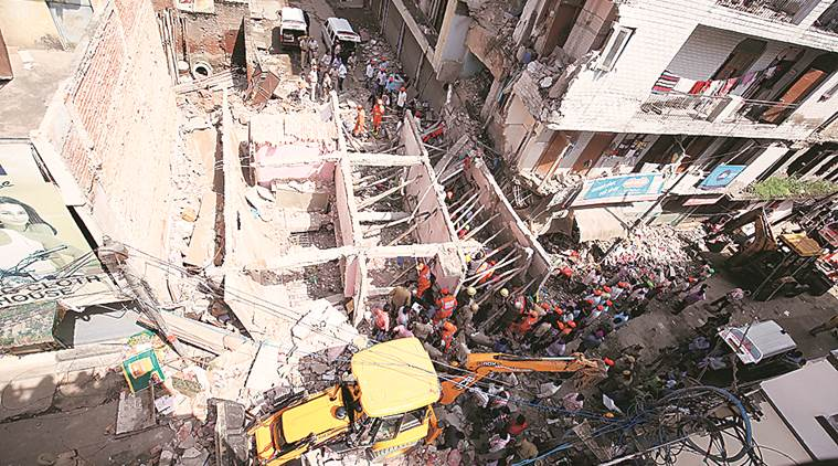 Ashok Vihar building collapse: North body acts against officials, orders survey