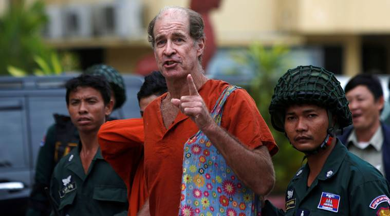 Australian filmmaker freed from Cambodia prison arrives in Sydney