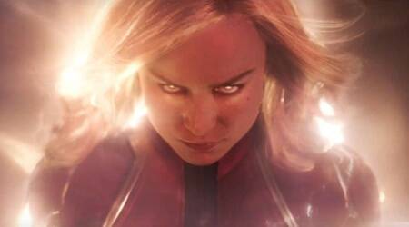 Captain Marvel trailer: Brie Larson's superhero descends on earth