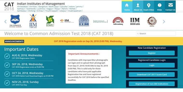 cat 2018, cat exam, cat registration, cat registration date, cat application, cat exam date, iim admission
