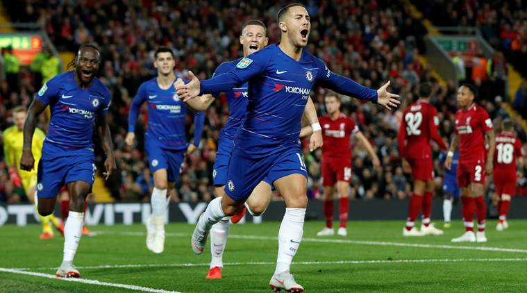 WATCH: Eden Hazard's sensational goal against Liverpool ...Chelsea