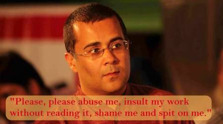 Chetan Bhagat slams trolls with a hard hitting post; gets trolled again