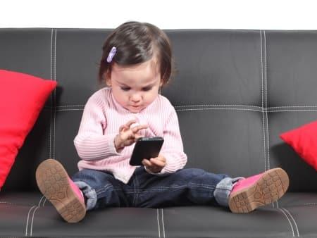 child mobile phone, digital usage