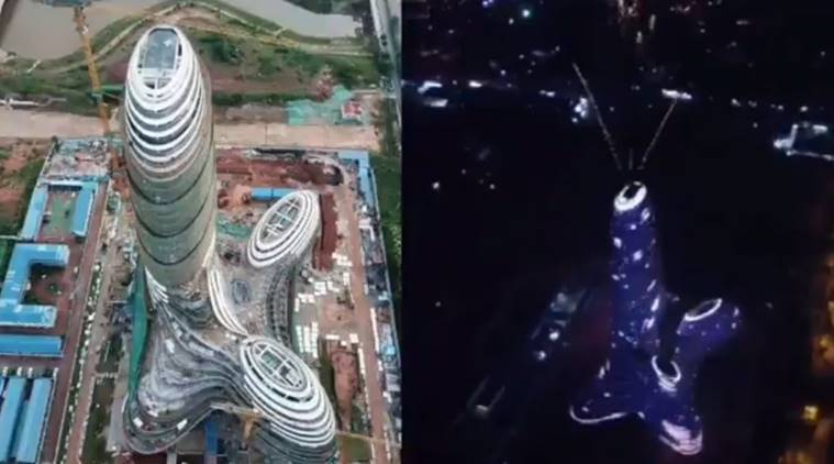 China, Chinese skyscraper which 'looks like a penis trolled, skyscraper resembles male genitals, chinese troll male genitals buildings, male genitals, trolling, china trolling, indian express, indian express news