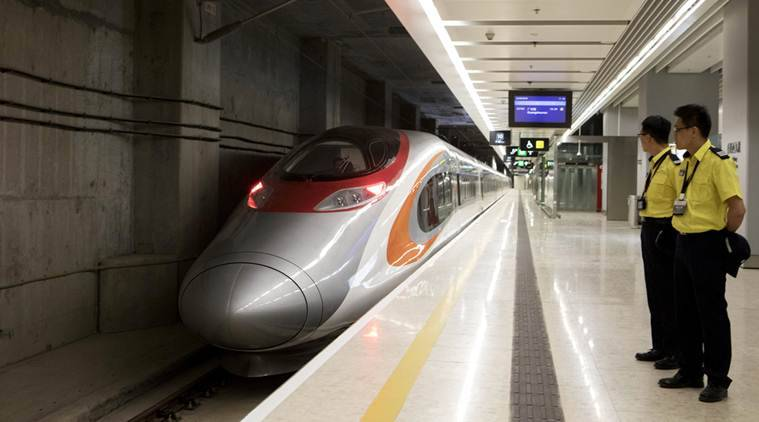 Hong Kong's controversial bullet train gets off to smooth start
