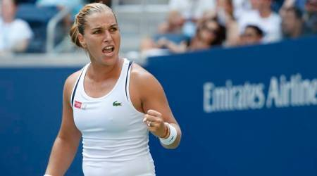 US Open 2018: Dominika Cibulkova upsets Angelique Kerber to reach fourth round