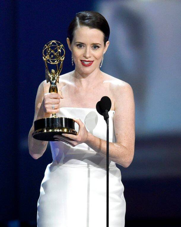 claire foy emmy win
