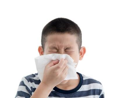Easy Ayurveda treatments to cure common cold inchildren
