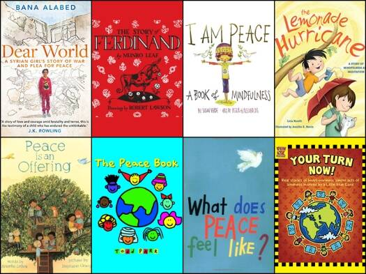 International Day of Peace: 8 children's books on the theme of peace