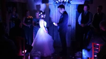 Ottawa couple find quick-fix to save their wedding ceremony after tornado causes power outage