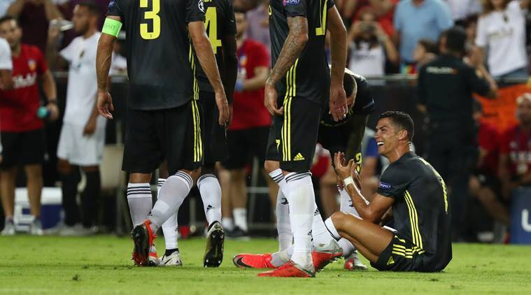 b9b2592ac79 Champions League wrap-up  Cristiano Ronaldo sent off but Juventus win 2-0  at Valencia