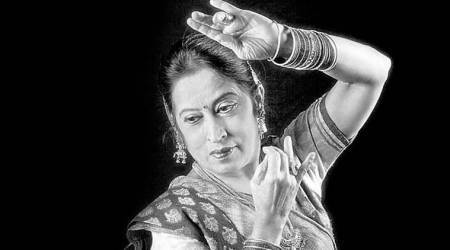Shama Bhate, classical dance, indian art forms, indian classical dance, kathak dancers, indian express, expanding the boundaries, talk page