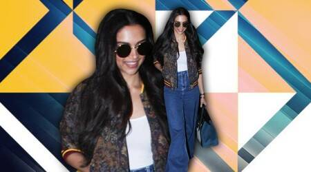 Deepika Padukone turns heads in the airport by keeping it casual