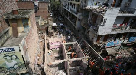 Delhi: Building collapses in Sawan Park, 5 killed, rescue operations continue