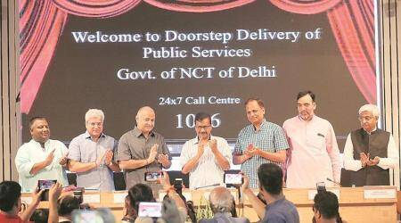 Doorstep scheme in Delhi: Many place calls for driving licence, castecertificate