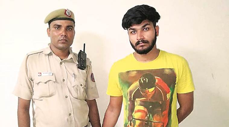 Seen thrashing woman on video, Delhi cop's son charged with rape, assault