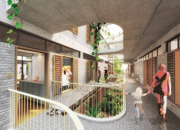 Architecture, Architecture Studios, Mumbai Design Studio, Indian Express,  Affordable Housing Design Challenge