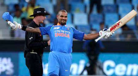 Asia Cup 2018: Shikhar Dhawan smashes 14th ODI ton in clash against Hong Kong