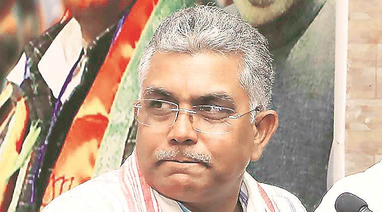 Dilip Ghosh, three others booked for 'holding public rally' in Cooch Behar