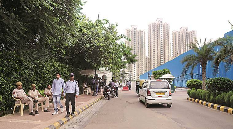 DLF basement deaths, DLF Capital Greens, West Delhi DLF complex, Delhi news, Indian Express news