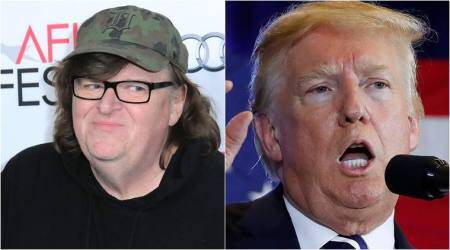 Michael Moore compares Donald Trump to Hitler in his documentary Fahrenheit11/9