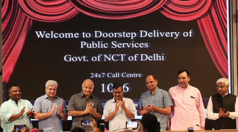 home delivery of public services, Arvind Kejriwal, AAP government, New Delhi, Doorstep delivery of public services, New Delhi, India, Indian Express