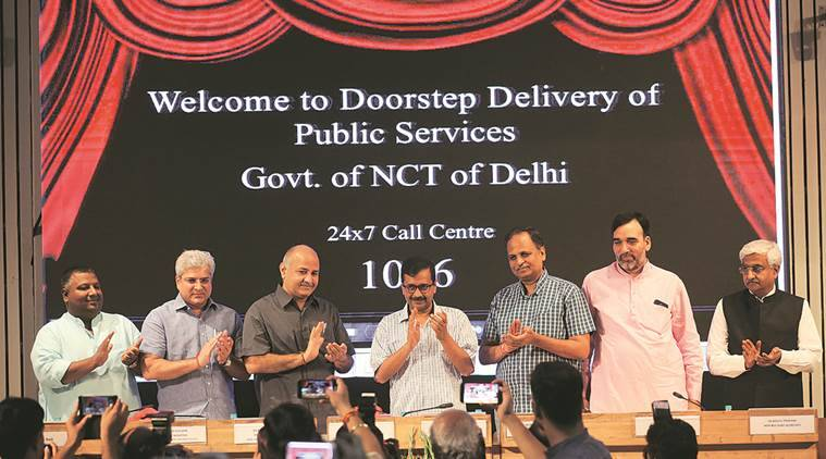 Delhi government scheme, doorstep delivery scheme, delivery of public services, Delhi govt, delhi news